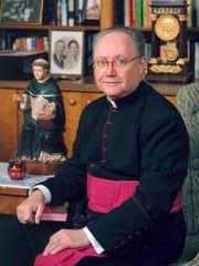 Bishop J. Glen Provost, third bishop of the Lake Charles