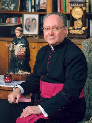 Bishop J. Glen Provost, third bishop of the Lake Charles Roman Catholic Diocese and former Lafayette Diocese monsignor who served at Cathedral of St. John the Evangelist and Our Lady of Fatima Catholic Church.