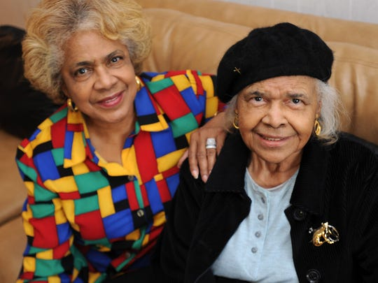Stell Parker Selby (left) and her mother, Violet Parker, at home in Milton. Stell is part of our diversity story, talking about changes in Sussex County.