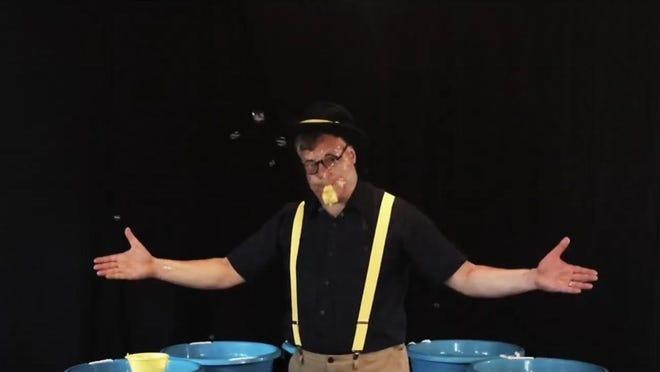 The 2020 Summer Reading Games ends with a performance by Doug Rougeux, of BubbleMania.