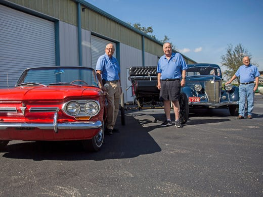 An Impressive Trio Of American Automobiles - Naples antique car show 2018