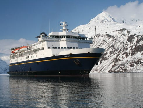 Built in 1998, the 499-passenger Kennicott is one of the newer ferries in the Alaska Marine Highway System, which often is used by adventurous travelers to reach the glacier-carved waters of Southeast Alaska and other scenic regions.