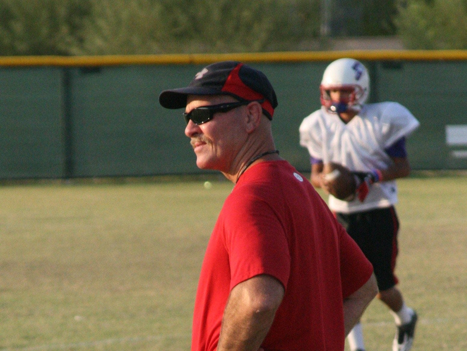 Brian Cole's Glendale Joy Christian team has not only won all 12 of its games this football season, but it has scored at lead 40 points in all of them.