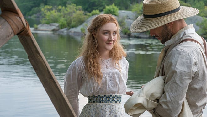 """Saoirse Ronan, left, and Corey Stoll star in """"The Seagull."""""""