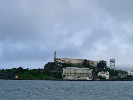 Alcatraz Island is seen Wednesday, March 6, 2019, in