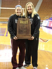 Missouri State volleyball player Brianne Dixon and