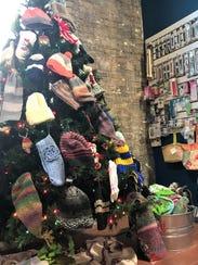 Customers to the Lost Sheep Yarn Shop in Sheboygan