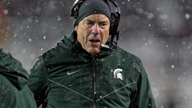 Mark Dantonio thinks the Big Ten will be represented in the College Football Playoff.