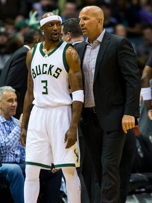 Jason Kidd and Jason Terry are longtime friends and former teammates.