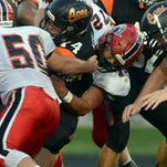 Fairfield Union's Woodside made his presence felt on defense