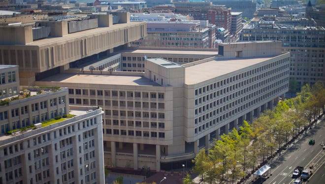 The J. Edgar Hoover Building is the Federal Bureau of Investigation's headquarters in Washington. The FBI is looking to consolidate its headquarters into a new building.