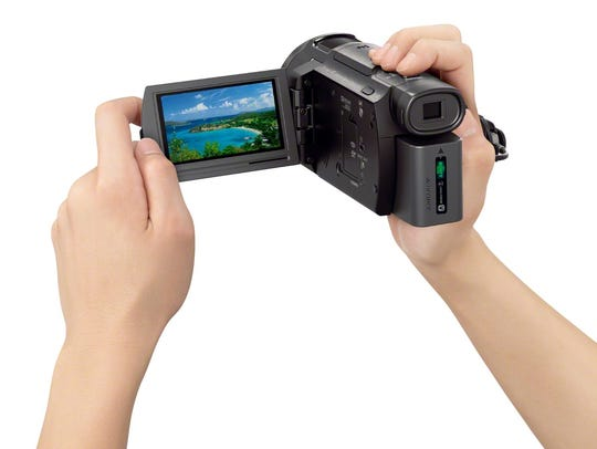 Sony's AX33 Handycam can shoot video in 4K resolution.