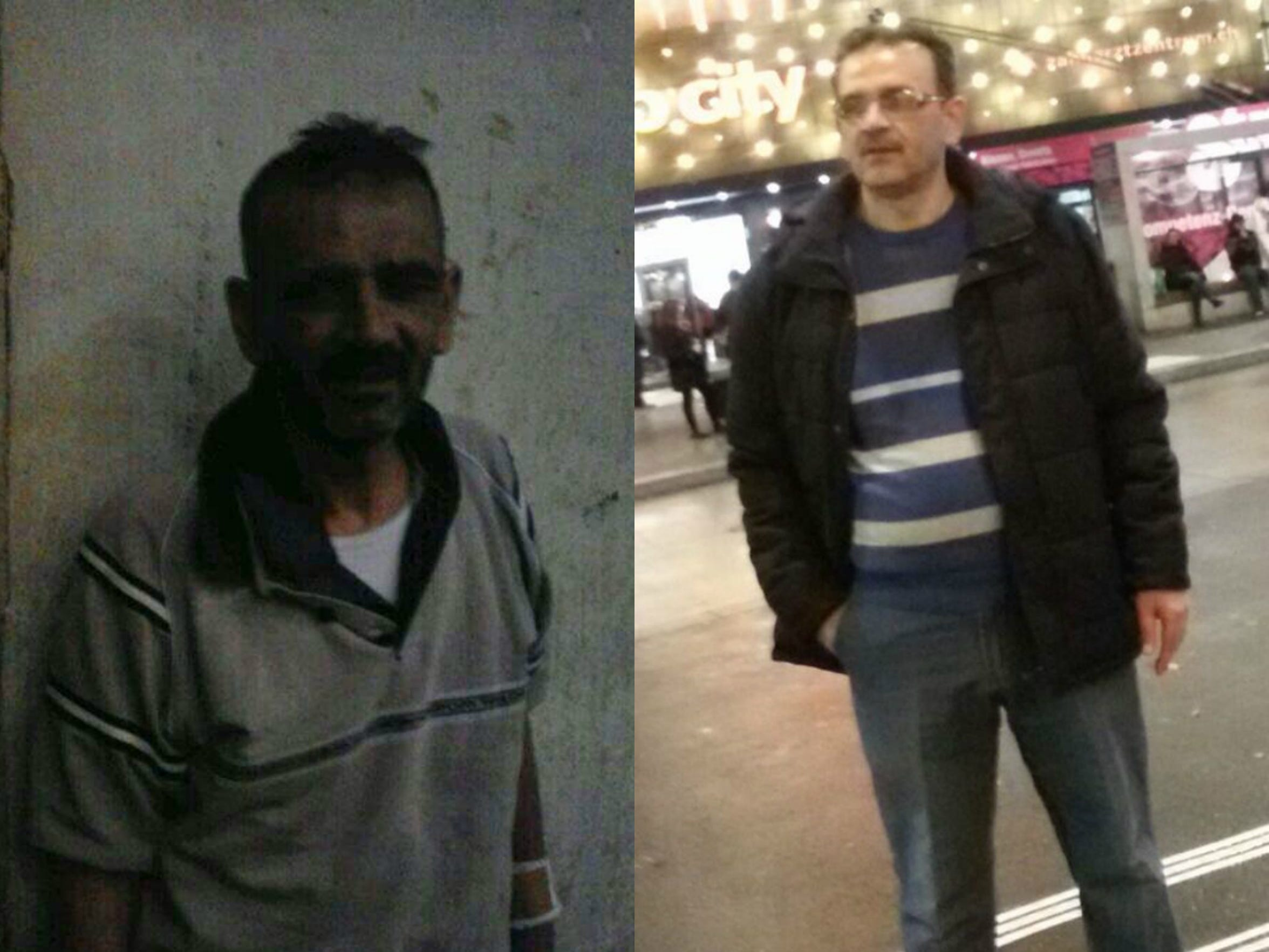 Marwan Batman's brother. The photo on the left was