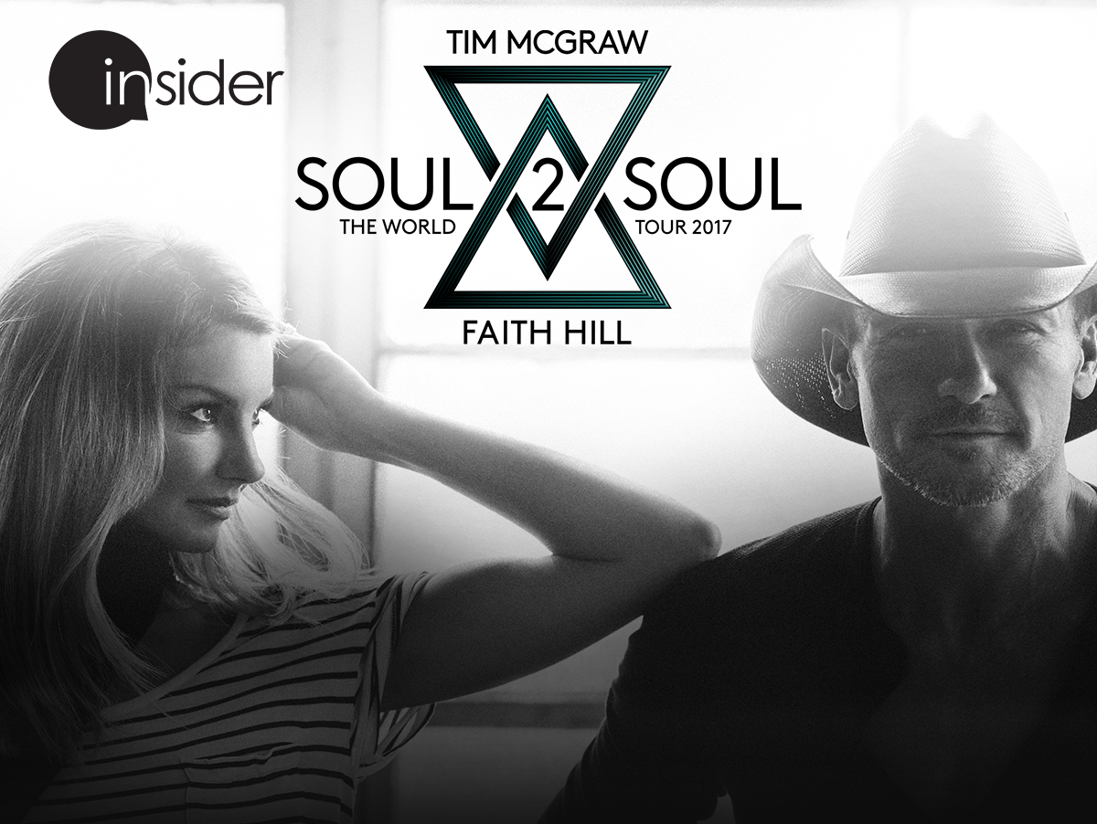 Enter for a chance to win 2 suite tickets to see Faith Hill and Tim McGraw. Enter 6/4-7/2