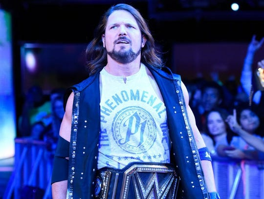 AJ Styles is among the WWE superstars scheduled to appear at the Summerslam Heatwave Tour at the Pensacola Bay Center.