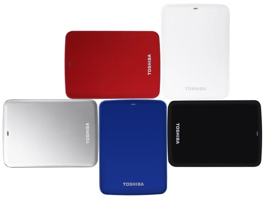Toshiba Canvio Connect 500GB Portable Hard Drive
