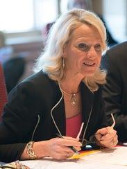 Sen. Bethany Hall-Long, a Middletown Democrat and nursing