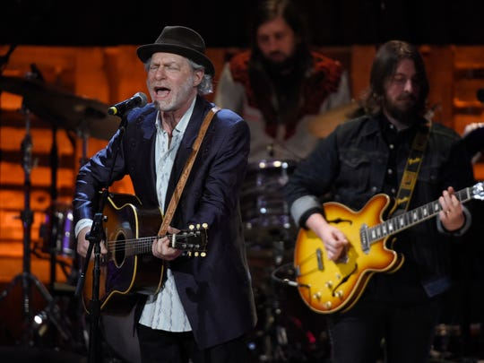 Buddy Miller performs at the 2016 Americana Music Honors and Awards Show at Ryman Auditorium Wednesday, Sept. 21, 2016, in Nashville, Tenn.