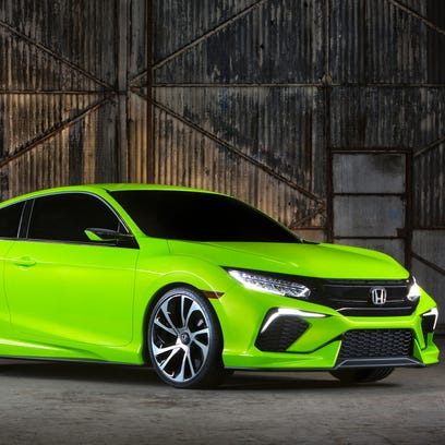 Honda just unveiled a new Civic concept at the New