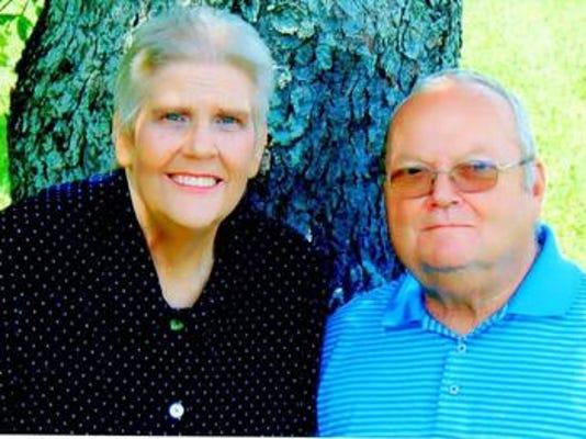 Anniversaries: Howard Potts & Sandra Potts