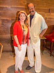 Board Member Linda Williamson, and her husband Fred
