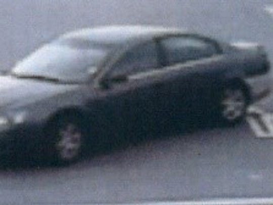 La Vergne Police are looking for assistance in identifying a woman who they say may be involved in a case of identity theft seen driving this dark gray Nissan Altima with a white rear bumper.