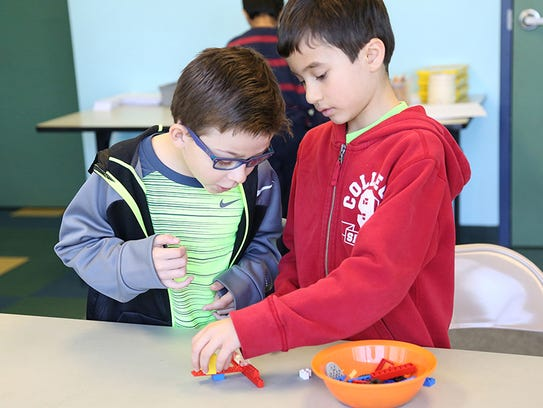Young innovators use Legos to explore opportunities