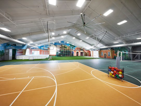 Elite Sports Club has replaced four tennis courts with