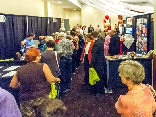 More than 100 businesses are expected to have booths