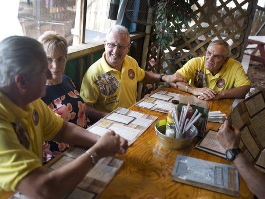 quatre marines 50 ans parès