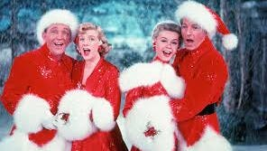 "A classic holiday movie is ""White Christmas."""
