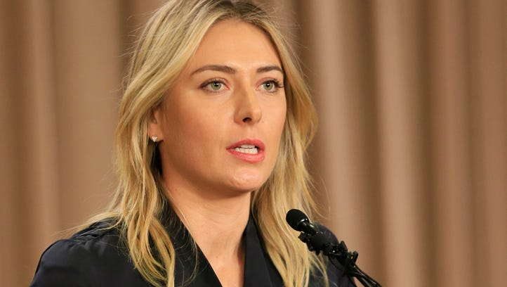 Maria Sharapova receives two-year ban for meldonium use