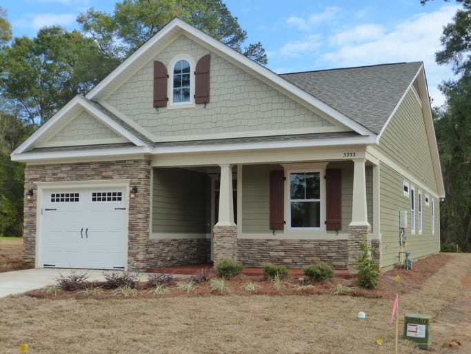 The Parrish Group Parade entry is this three-bedroom house in the new Kingsmill neighborhood.