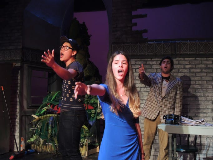 """Rockland Country Day School presents """"Little Shop of Horrors"""" at 7 p.m., April 25; 2 and 7 p.m., April 26; 2 p.m., April 27."""
