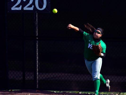 PHOTOS: Hood College vs. York College softball