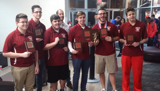 In addition to winning the Passaic County boys bowling