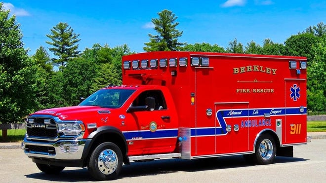 Berkley's new ambulance features an integrated patient load system, updated reflectors and a light package to meet today's ambulance standards.