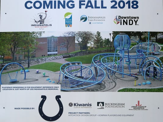 Plans were announced for a new Canal Playspace due to open along the Downtown Canal in the Fall of 2018.