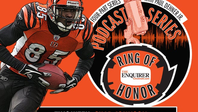 Chad Johnson is our fourth inductee into a mythical Bengals Ring of Honor,