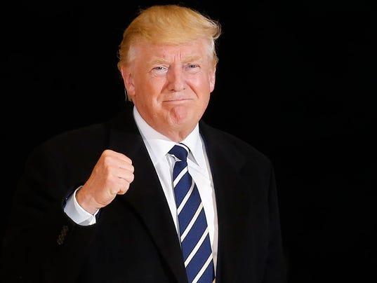 USP NEWS: DONALD TRUMP RALLY S USA IA