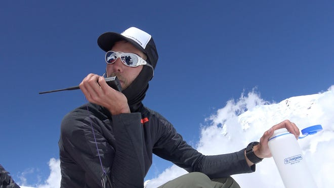 Cody Tuttle is pictured 6000 meters above sea level at Camp2 of the north face of Annapurna 1 in Nepal in 2015. The Kimball Township native had changed his efforts from documenting a mountain climbing expedition to assisting in the relief efforts following two earthquakes in the county. Tuttle died in a paragliding crash Aug. 14.