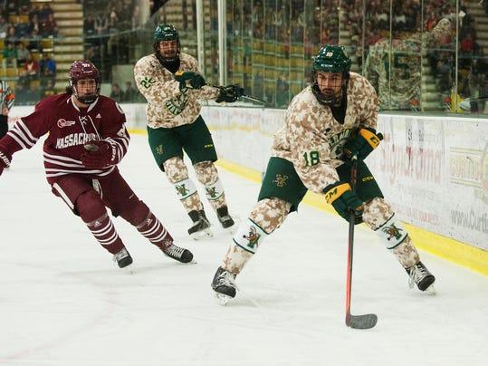 Umass vs. Vermont Men's Hockey 11/25/14