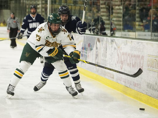 Hockey East: UVM Edges UConn In Hockey East Playoff Opener