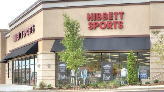 A Hibbett Sports store.