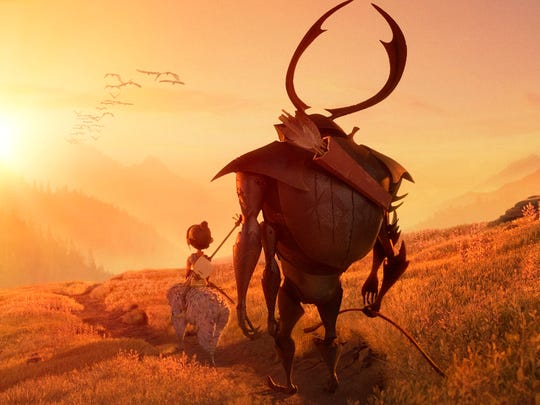 "A poster image from ""Kubo and the Two Strings,"" from"