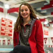 GIRLS' SWIMMING: Vineland's Carastro is making waves again