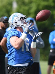 Lions wide receiver Jace Billingsley spent most of