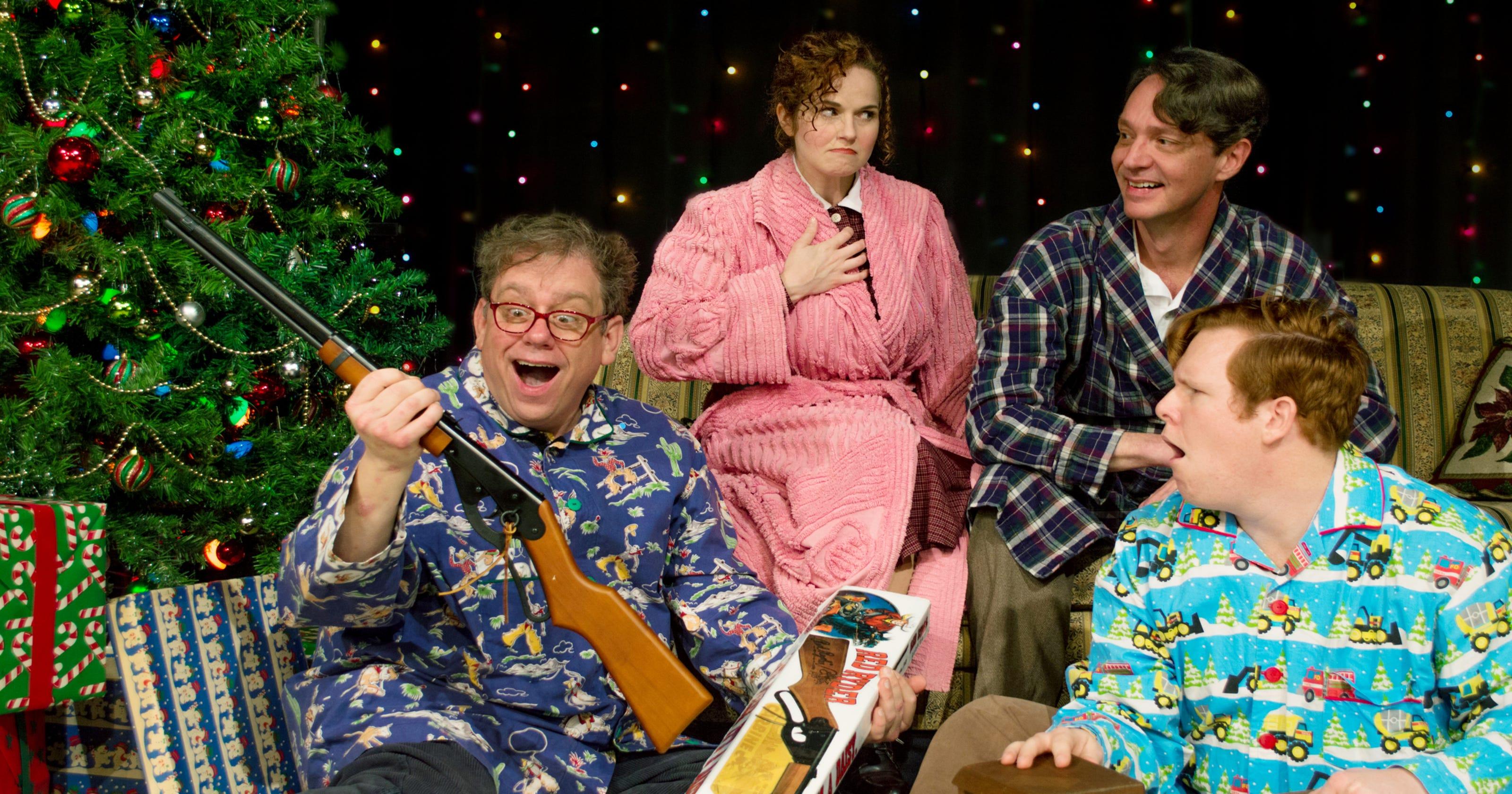 Christmas Story Cast.New Cast Unwraps A Christmas Story At Nashville Rep