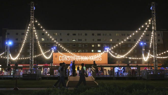 Wilmington's Constitution Yards Beer Garden will host a pair of Halloween parties at the end of the month before closing for the season.