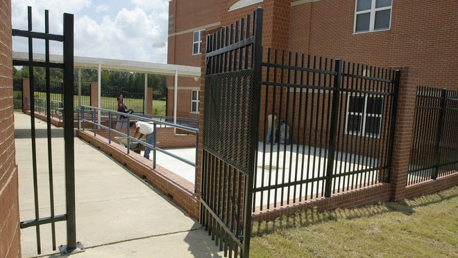 In this 2005 photo, improvements are being made at Olde Towne Middle School.